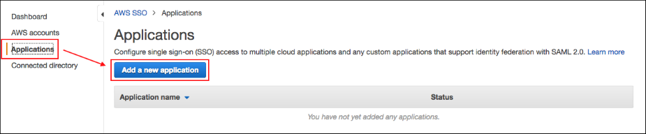Aws cloudtrail noise page 2 screenshot of choosing applications m4hsunfo
