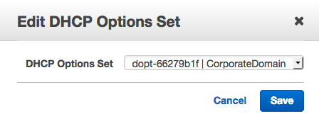"The ""Edit DHCP Options Set"" dialog"