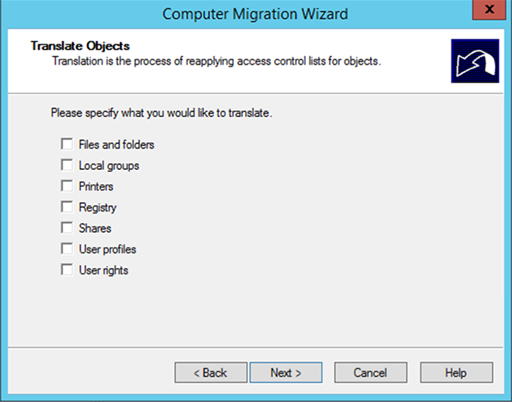 "Figure 14: The ""Translate Objects"" dialog box"