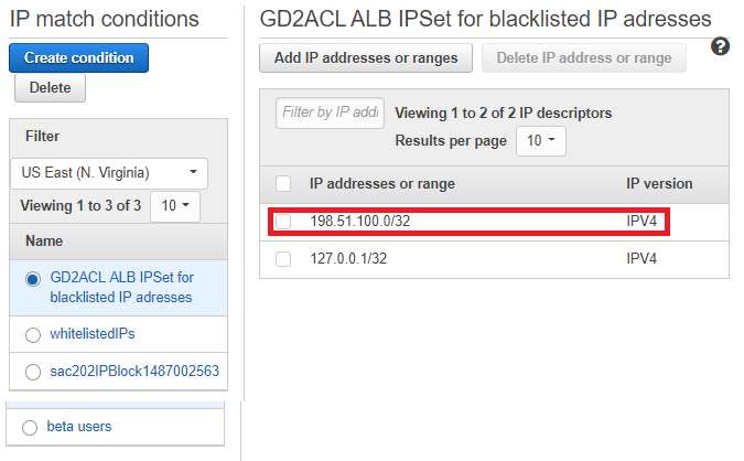 Figure 14: Make sure the IP address was added