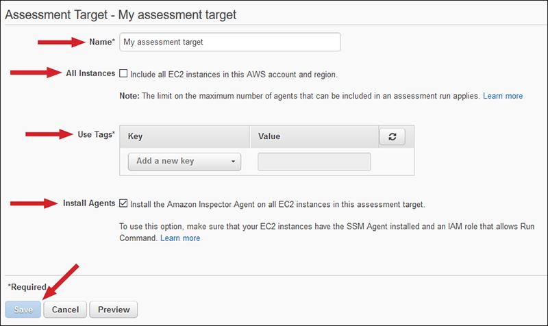 Figure 2: Assessment target