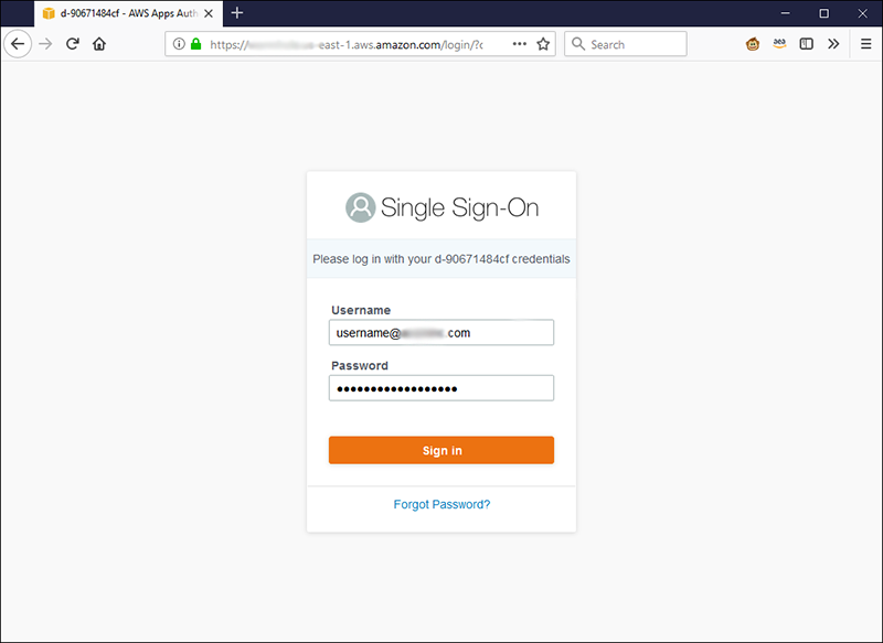 Add a layer of security for AWS SSO user portal sign-in with context