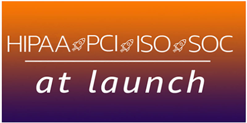 New AWS services launch with HIPAA, PCI, ISO, and SOC