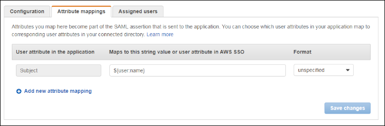 "Figure 9: Enter ""${user:name}"" and select ""Unspecified"""