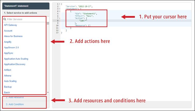 Figure 3: SCP editor tool