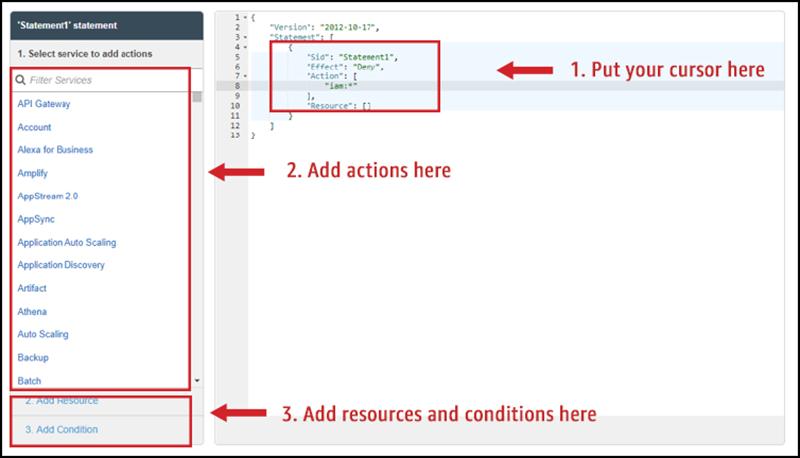 Figure 5: SCP editor tool