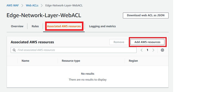 Figure 13: Add AWS resources