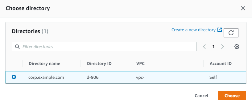 Figure 6: Select a directory