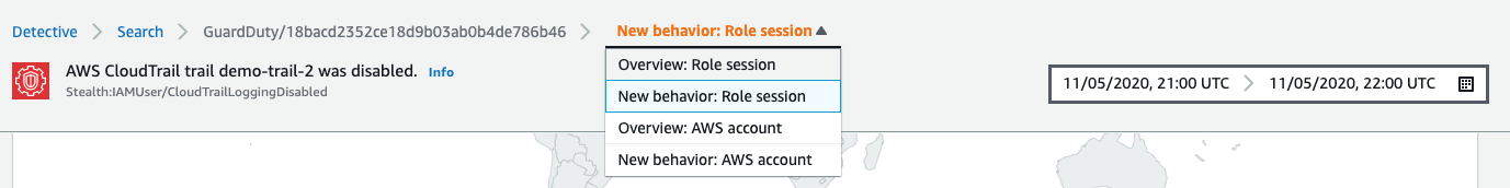 Figure 6: Navigating to the 'Overview: Role Session' page