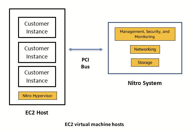 Figure 1: Virtualized EC2 instances