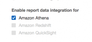 Configuring Amazon Athena Integration