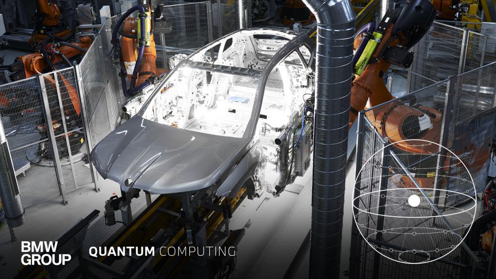 BMW robotic assembly line