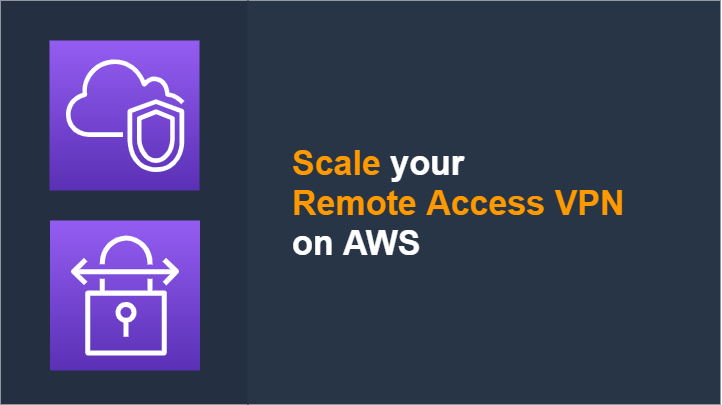 Scale your Remote VPN on AWS