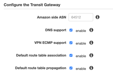 site to site vpn console config tgw - Amazon Site To Site Vpn Cost