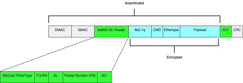 MACsec Encapsulation details