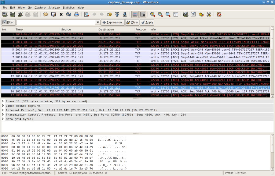 Debugging SMTP Conversations Part 3: Analyzing TCP Packets