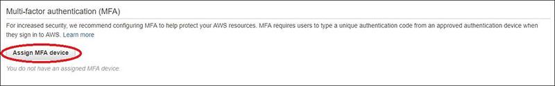 Comment afficher les paramètres MFA