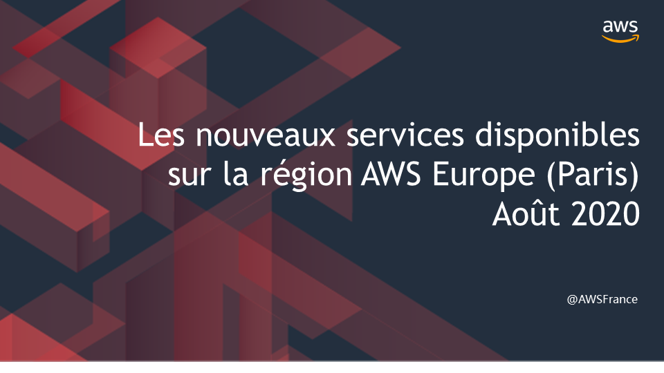 Paris Services Update 08/20200