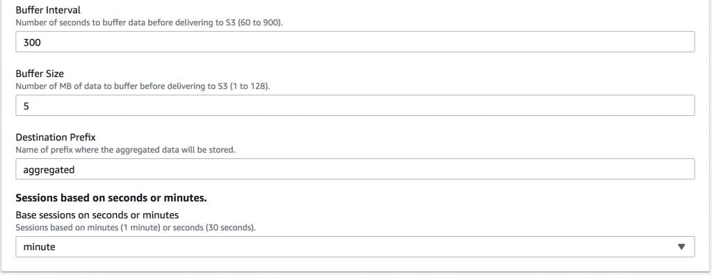 CloudFormations - Configuration Screen part 2