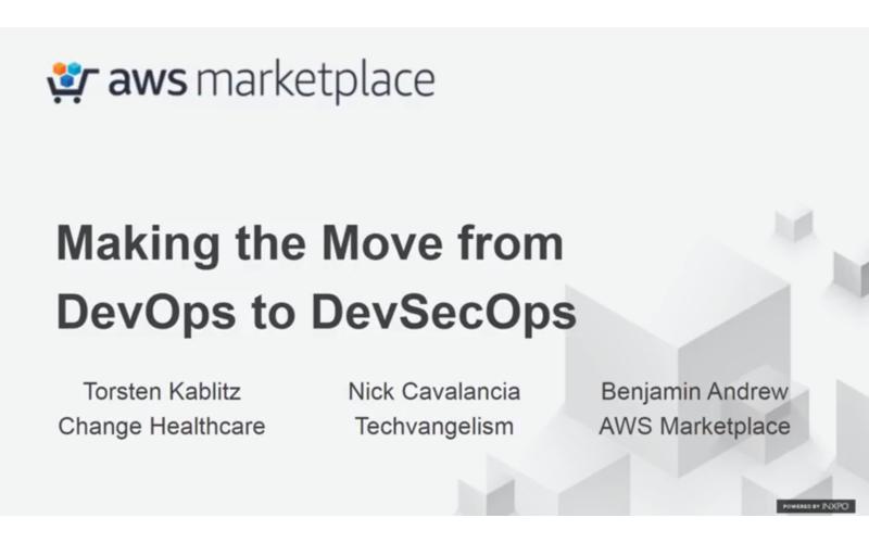 DevSecOps webinar AWS Marketplace