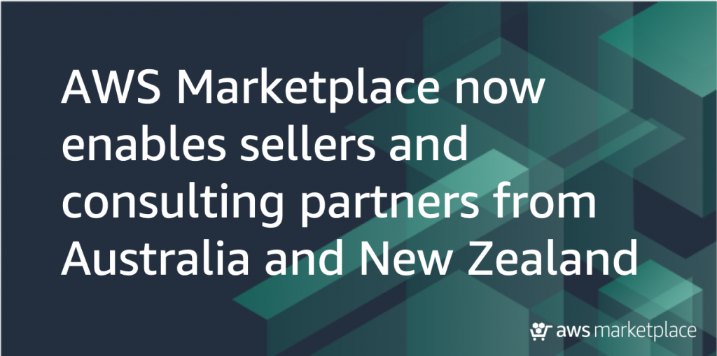 australia new zealand announcement AWS Marketplace
