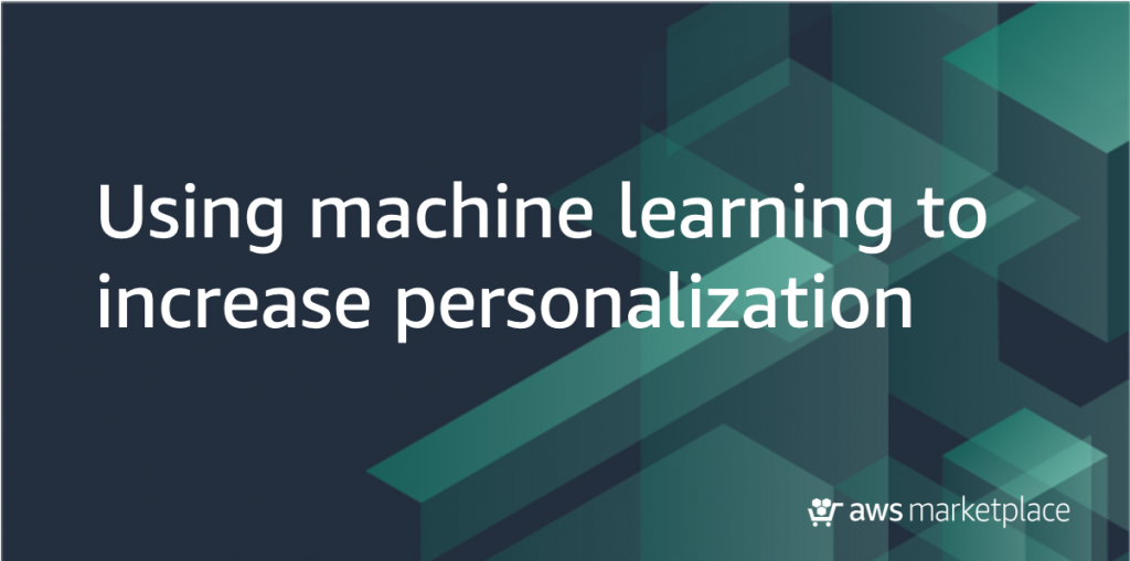 ML to increase personalization