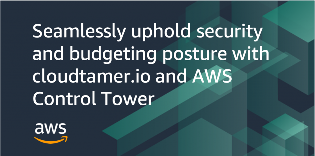 cloudtamer AWS Control Tower blog