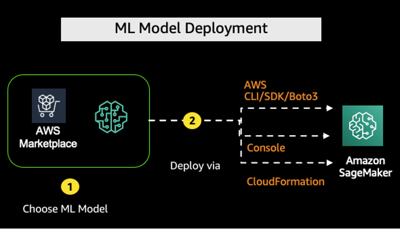 Deploying AWS Marketplace ML models