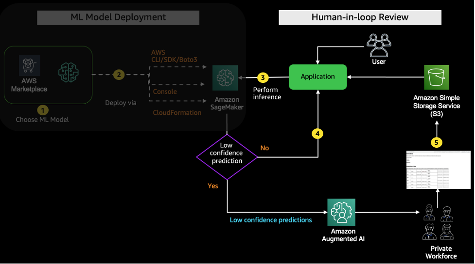 Human-in-loop architecture