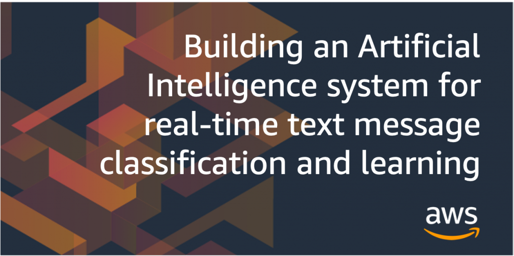AI for real time text classification