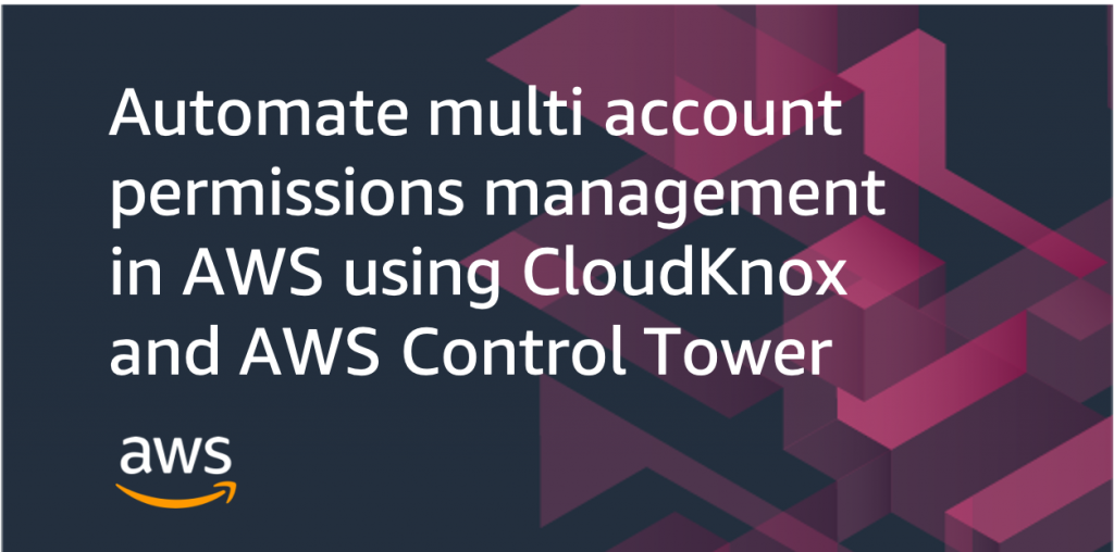 automate multi account permissions CloudKnox
