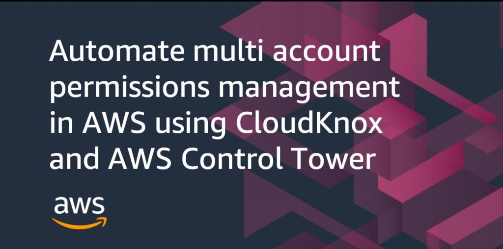 automate multi account permissions CloudKnox