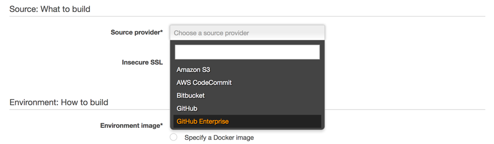 Announcing AWS CodeBuild Support for GitHub Enterprise as a