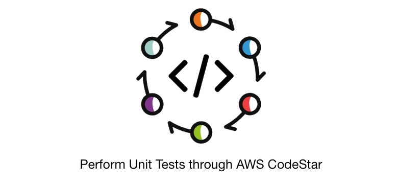 Perform unit tests through AWS CodeStar