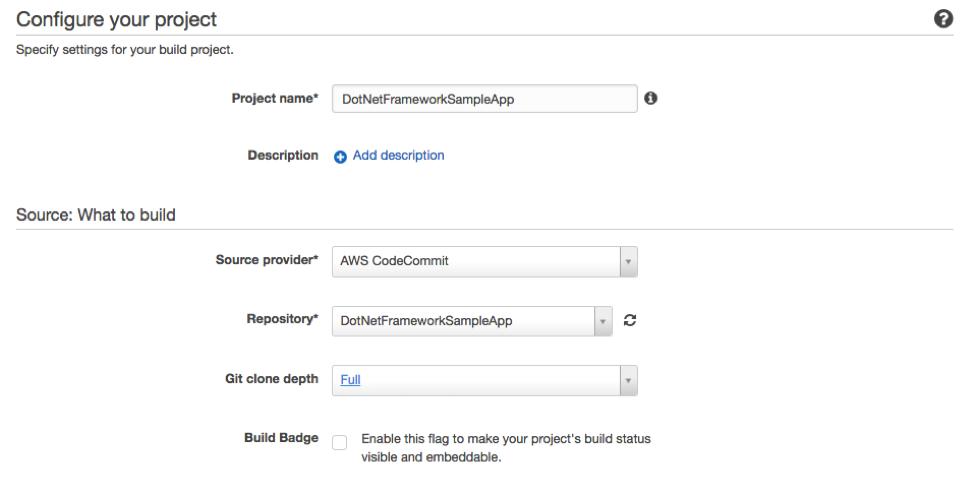 Extending AWS CodeBuild with Custom Build Environments for the  NET