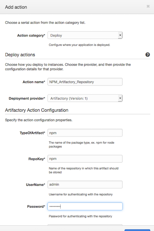Integrating JFrog Artifactory with AWS CodePipeline | AWS