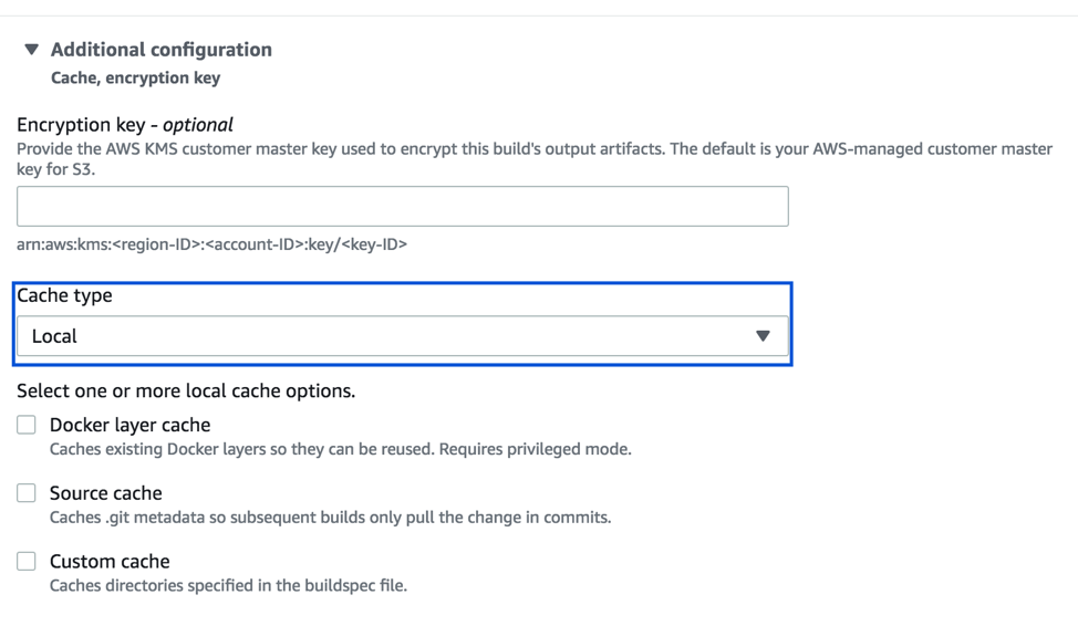 Improve Build Performance and Save Time Using Local Caching