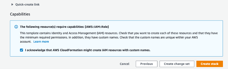 Add IAM Capabilities