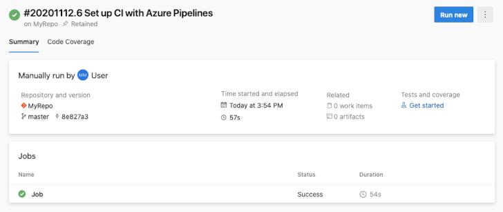 Azure DevOps screenshot