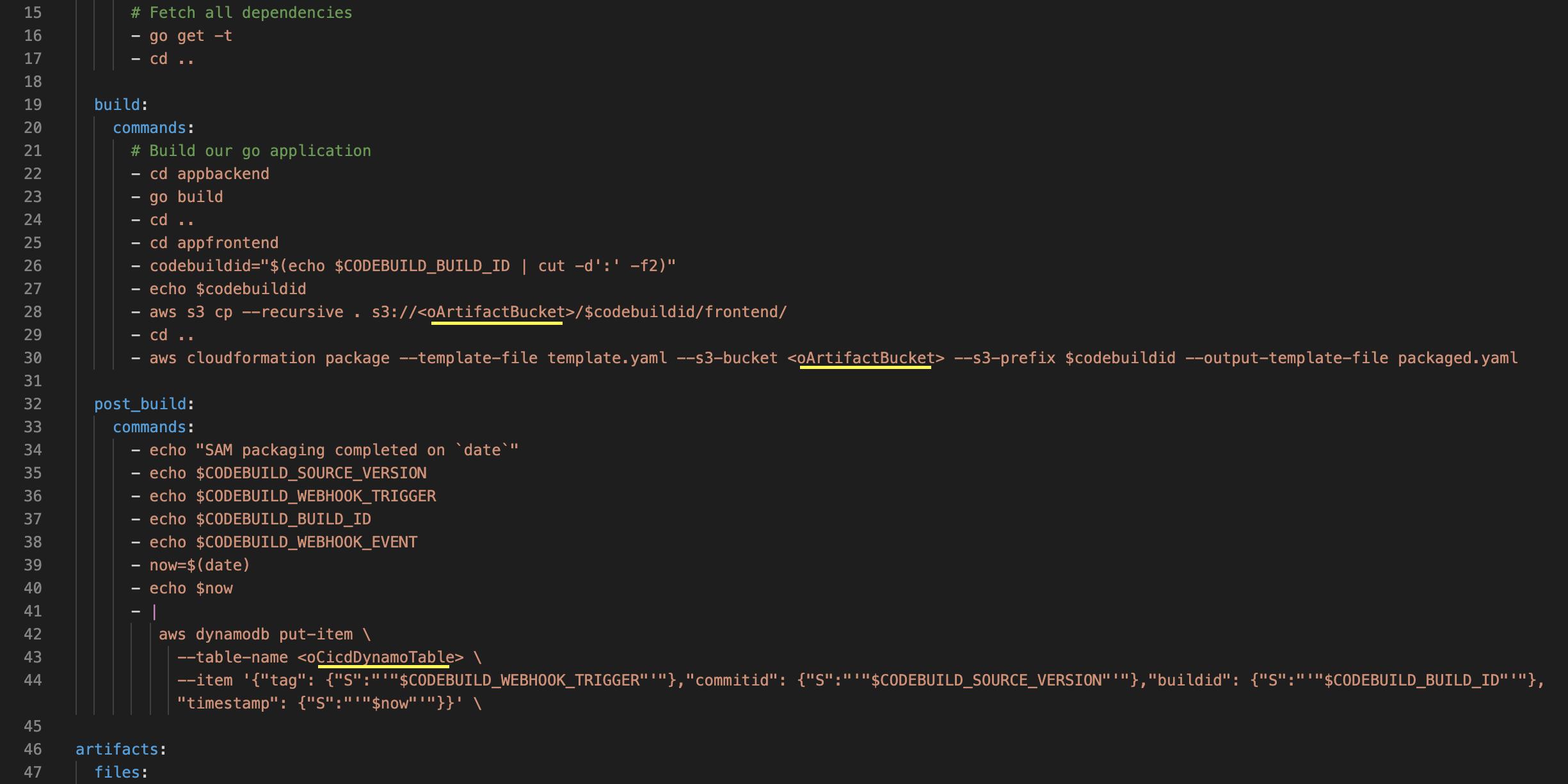 sample-buildspec