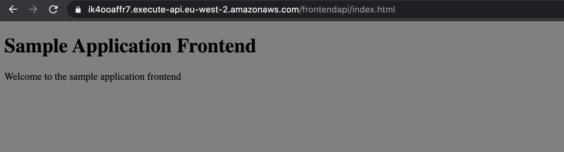 front-end-application