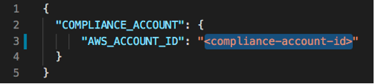 workload cross account role stack config