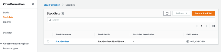 StackSet