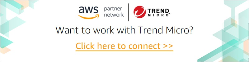 Trend Micro AWS Partner Network joint image