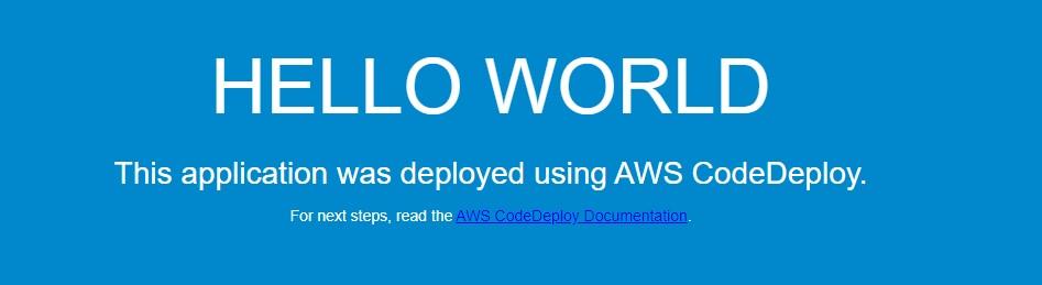 New Application version (Blue deployment)