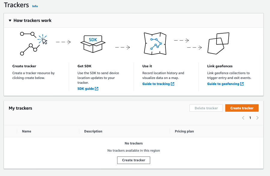 Select Create Tracker
