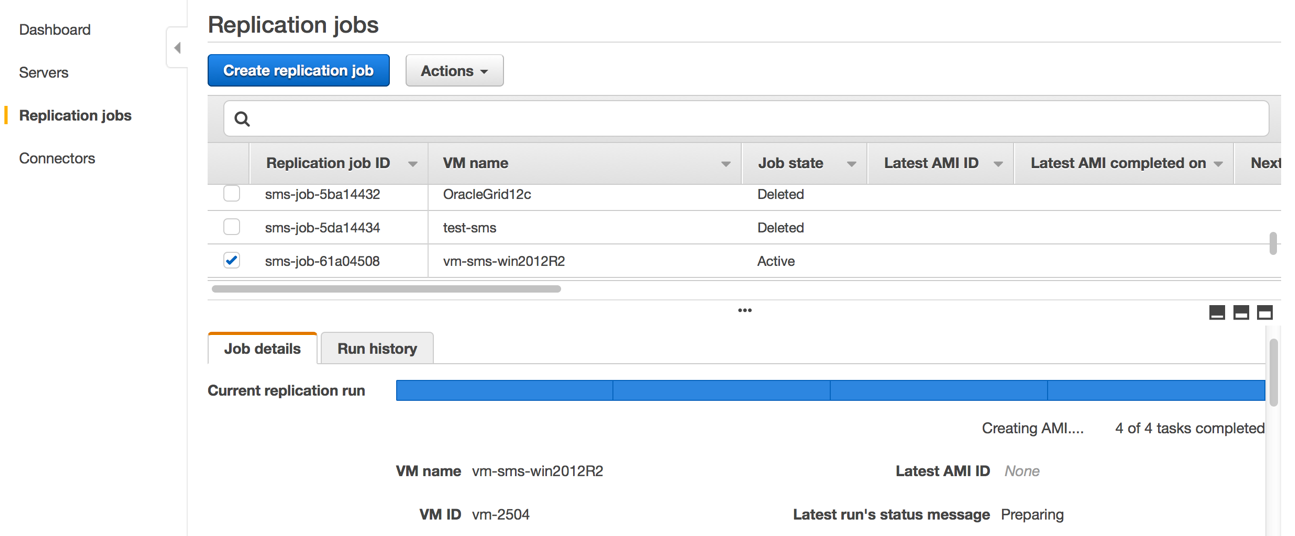 AWS Server Migration Service – Server Migration to the Cloud