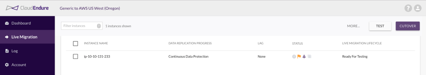 Facilitating a Migration to AWS with CloudEndure by ...