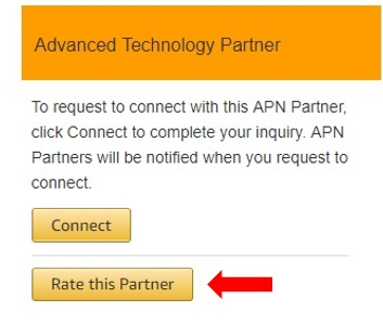 Rate This Partner Button