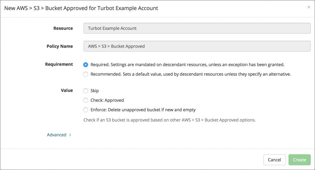 Turbot S3 存储桶-4